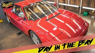Day In The Bay* How to REMOVE SWIRLS and revive FADED RED single stage paint