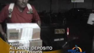 Allanan deposito de explosivos de Sendero Luminoso en la provincia de Padre Abad, en Ucayali