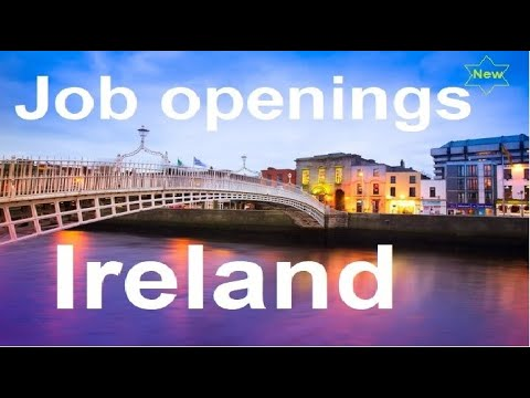 5 New Job Openings In Ireland//Latest Job Openings In Ireland//How To Apply For New Job Ireland