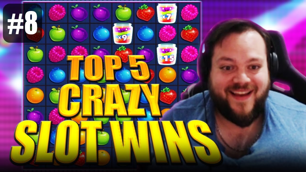 TOP 5 CRAZY SLOT WINS   ONLY THE BEST MOMENTS #8