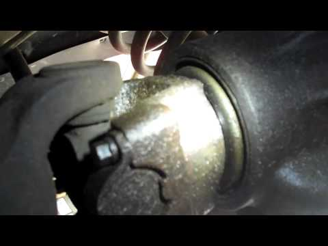 install replace rear axle differential pinion seal