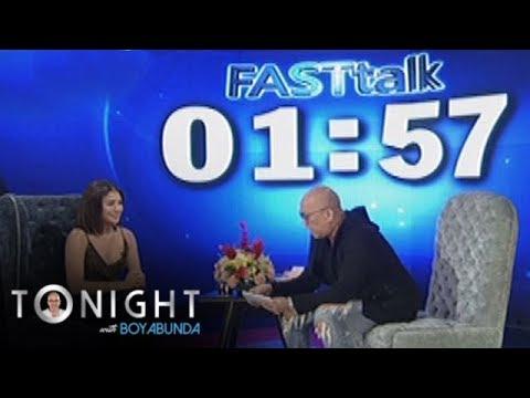TWBA: Fast Talk with Kiana Valenciano