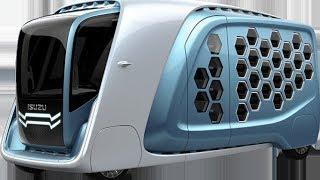 Japon Isuzu'nun Sıradışı Araç Dizaynı Fuarda Sergileniyor