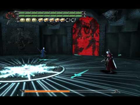 Devil May Cry 3 SE PC HD - Vergil battle 2 DMD mode No damage