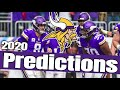 Minnesota Vikings 2020 Predictions and Full NFL Preview - All Sports Central