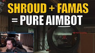 SHROUD ▪ Look At His AIM With The FAMAS!! - COD MW Beta【Call Of Duty Modern Warfare】