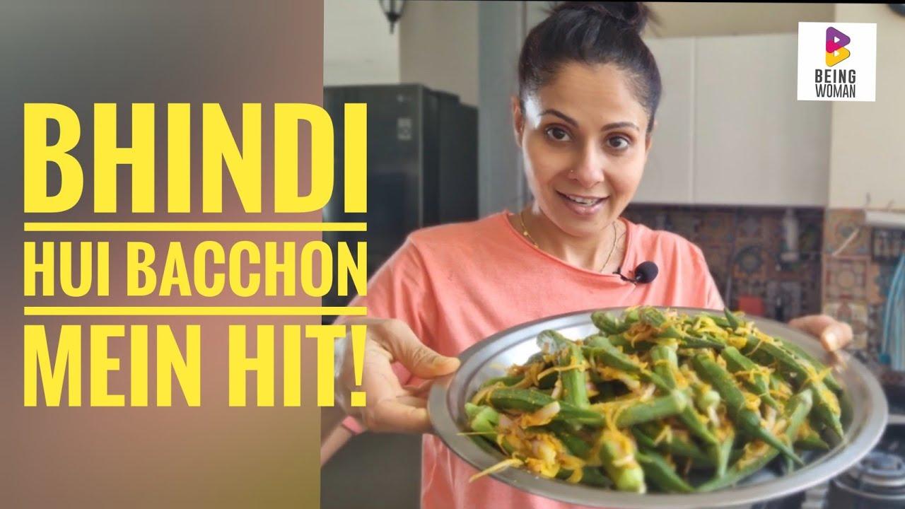 Bhindi hui bacchon mein hit!   Bhindi recipe   Bharwan Bhindi   Being Woman With Chhavi  