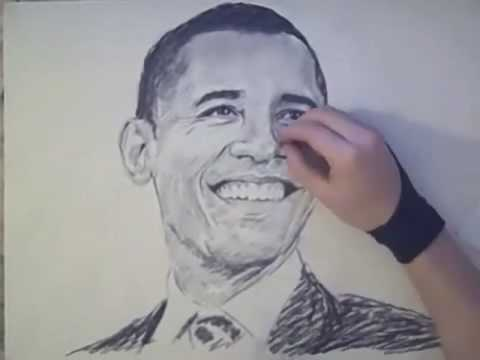 Vẽ Barack Obama
