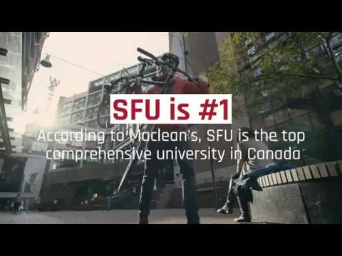 Maclean's ranks SFU #1 comprehensive university in Canada