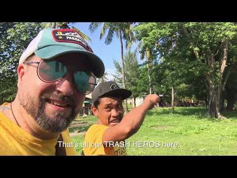 Trash Hero on Gili Meno, Bali Part 4