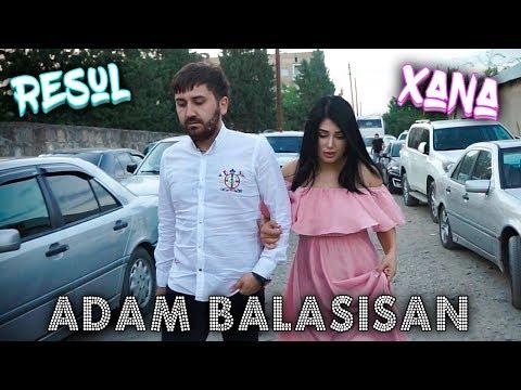 Resul Abbasov Ft. Xana - Adam Balasisan (Toy) (Gürcüstan)