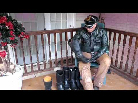 Harness Boots For Bikers