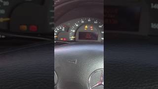 Mercedes C220 cdi  W203 Hot Temp starting Problem Fixed