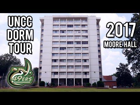 UNC Charlotte Dorm Tour 2017!  Moore Hall