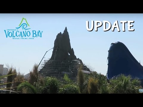 Volcano Bay Construction Update Universal Orlando Resort (3/13/17) | BrandonBlogs