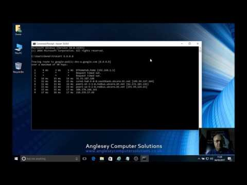 Using The Trace Route Command On Windows 10