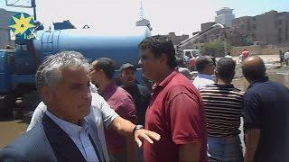 السفير الإيطالى بالقاهرة يتفقد موقع انفجار القنصلية