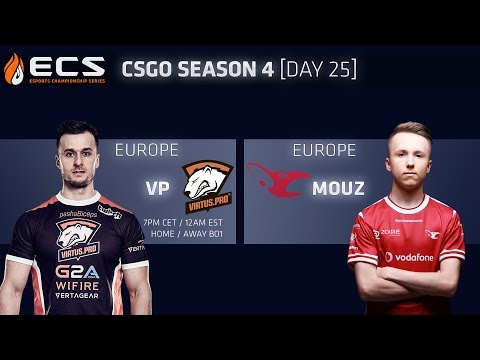 ECS CS:GO S4 DAY 25: Virtus.pro vs Mousesports thumbnail