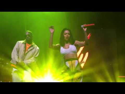 Teyana Taylor - Hurry (ft. Kanye West) - Live - HD