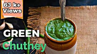 GREEN CHUTNEY For Aloo Paratha-best Combo #trendingrecipe #harichutney #greenchutney #withMe