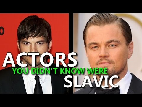 Actors you didn't know were Slavic