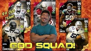 KAY'S GOD SQUAD! 99 OVR TEAM! Madden Ultimate Team 16 thumbnail