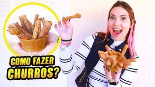 COMO FAZER O CHURROS MAIS GOSTOSO DO MUNDO?!!!