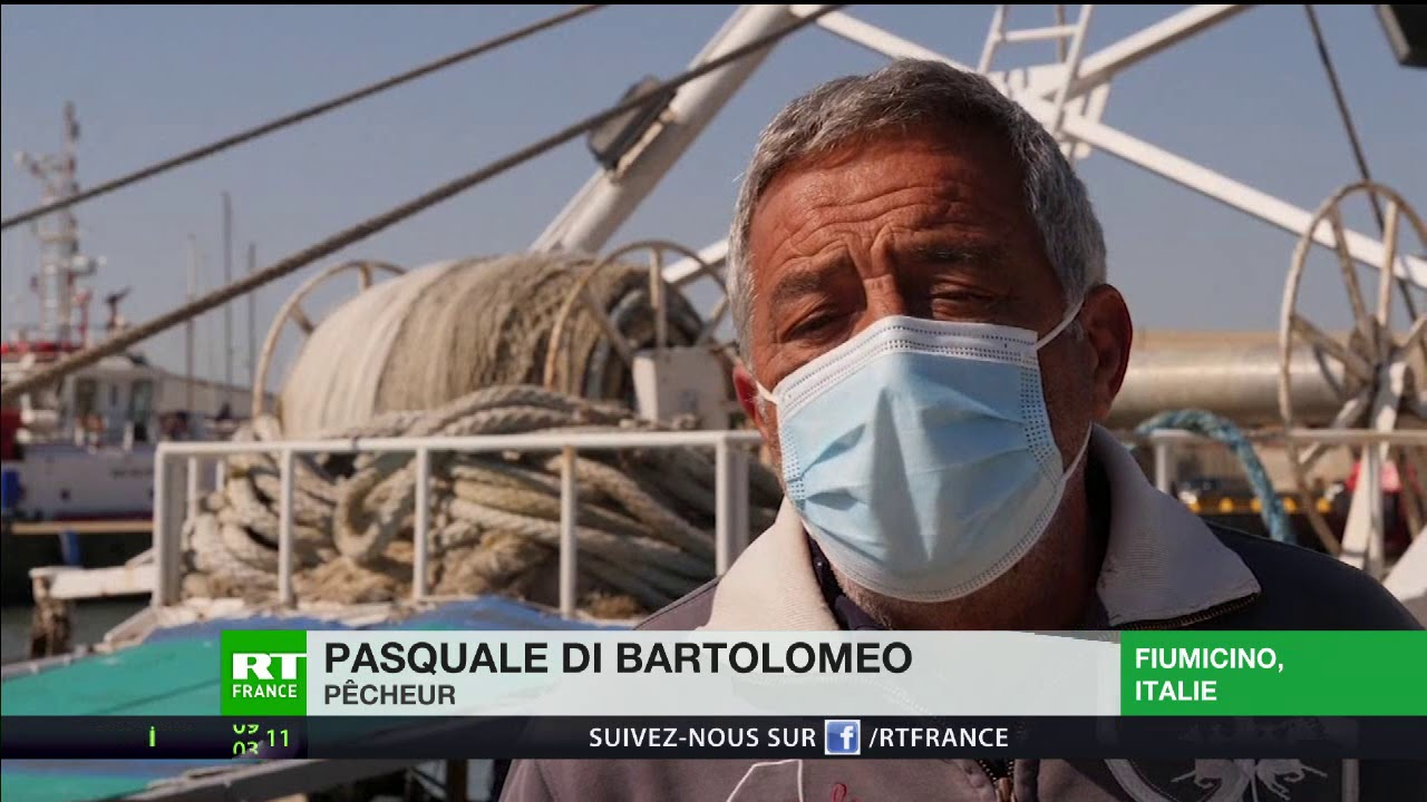 Les pêcheurs italiens contraints de ralentir leur activité