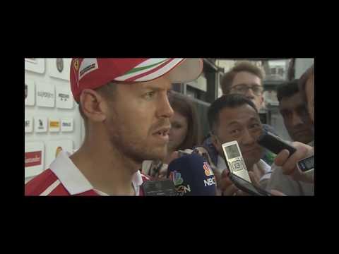 Interview Sebastian Vettel P4 Post Race Baku F1 2017