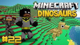 Minecraft Dinosaurs Mod (Fossils and Archaeology) Series, Episode 22 - A Brand New Dinosaur!