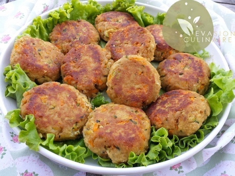Croquettes de thon (Tuna and vegetable patties) Evasion Culinaire by Naouel