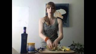 Super Easy Shaved Zucchini Salad