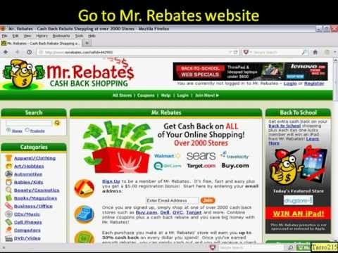Mr Rebates - How to EARN CASH BACK Online Shopping - Mr Rebates Payment Proof - Save Money ...