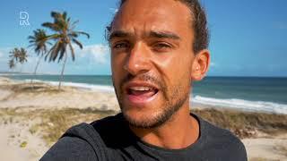 Kitesurfer Roderick Pijls uit Sommelsdijk ruimt olie en plastic op in Brazilië. Video: WNF/Roderi...