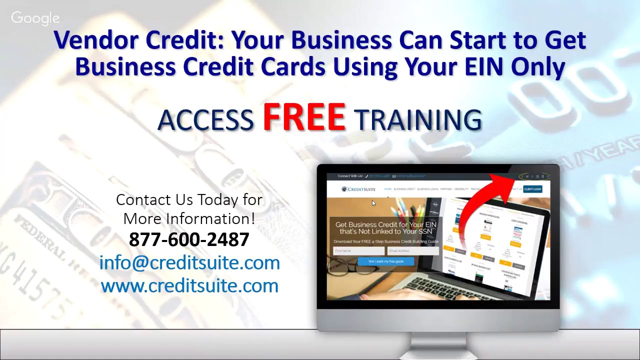 Vendor credit your business can start to get business credit cards vendor credit your business can start to get business credit cards using your ein only reheart Choice Image
