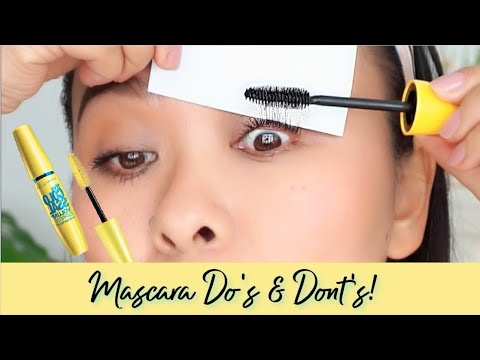Best Mascara Hacks | Colossal Mascara Review + Wear Test #BeColossalEveryday - YouTube