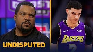 Ice Cube on Lonzo Ball's rookie season: 'So far, so good' | UNDISPUTED