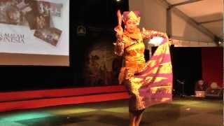 """Bali Dance Art - Pasar Malam Indonesia 2013, Malieveld Den Haag 21 maart - """"Truna Jaya""""  dans"""