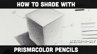 How to shade with a prismacolor pencil