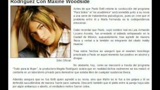Botti no le pegó a su novia, ni estaba borracho: Magda Rodríguez Con Maxine Woodside