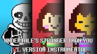 Undertale S Stronger Than You Tri Version Instrumental Lyrics Only