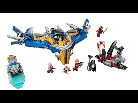 Guardians of the Galaxy LEGO - Building the Milano