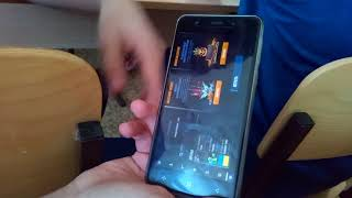 обзор Elephone P8 mini (на уроке биологии)!!!