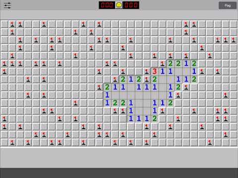Minesweeper Difficult: 16x30 - 99 Mines In 83 Seconds!