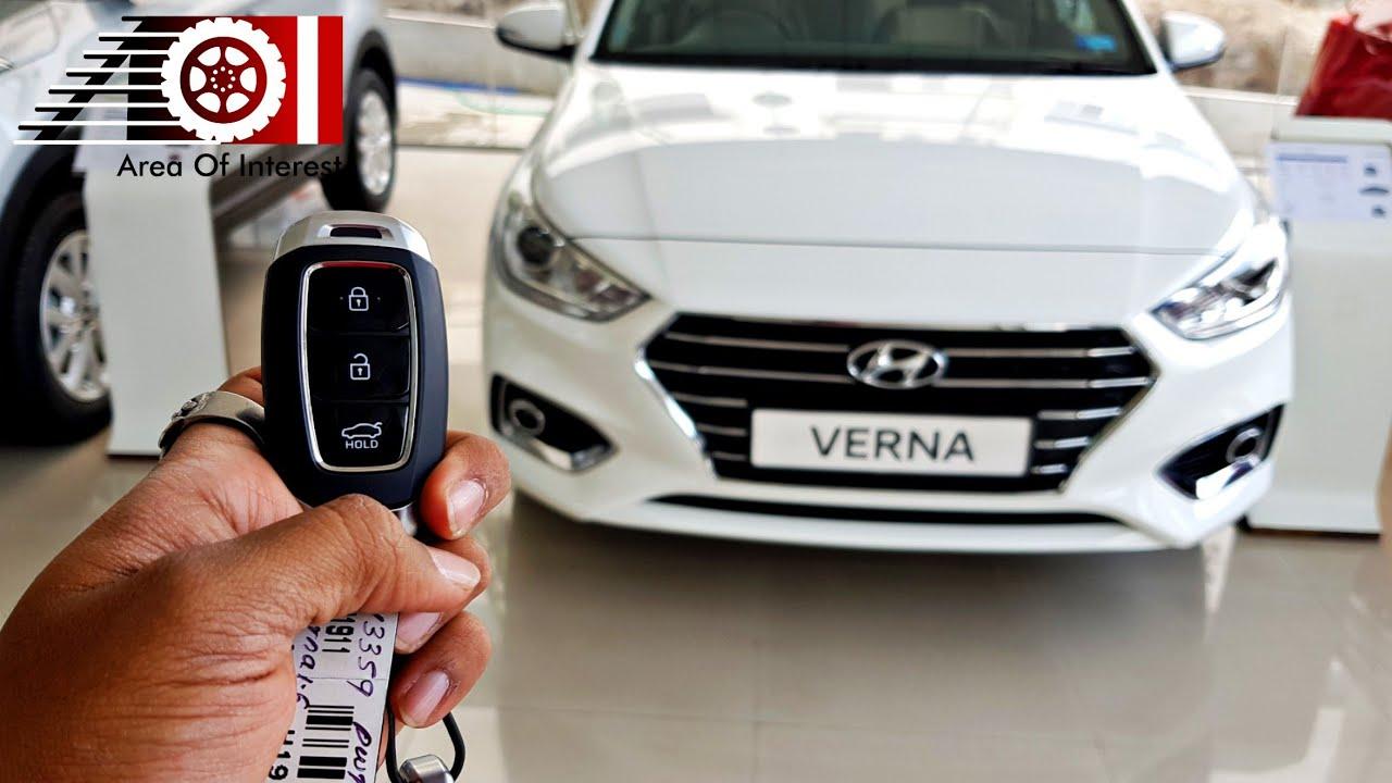 2019 Hyundai Verna Sx O Wireless Charging Sunroof Price