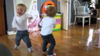 cute baby videos : funny baby pictures | Cute Twin Babies Dancing