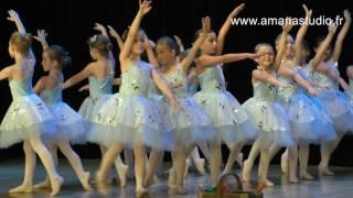 Ecole de danse Amana Studio - spectacle 2017 - danse classique Initiation 1 - 6 et 7 ans