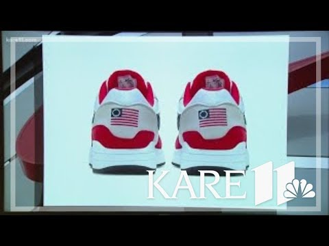 Nike Catches Flak For Creating And Then Pulling American Flag Shoes