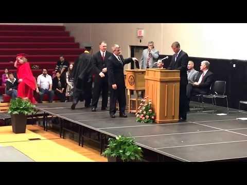Brayden Lester 2017 Graduation Roland Story high school