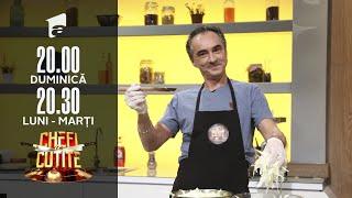 Chefi la cuțite | Marius Săvescu, super moment de dublaj cu Daffy Duck, pentru cei trei chefi